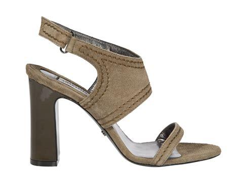 Wedges Suede 9cm Dorothee Schumacher Suede Deluxe Sandal 9cm In Brown Lyst