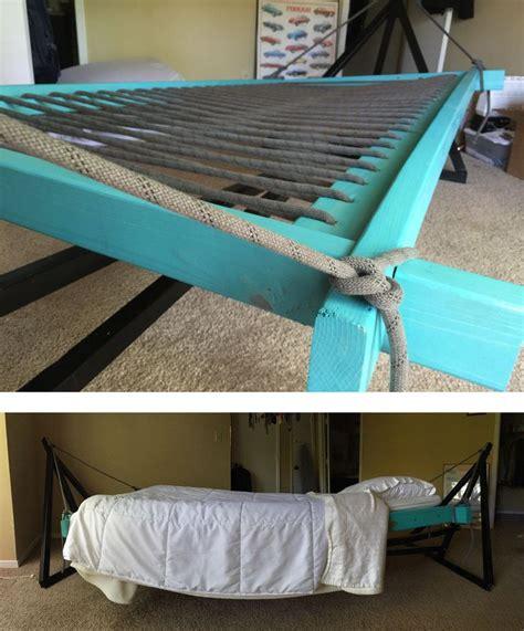 hammock bed hammock bed hammock  bedroom diy hammock