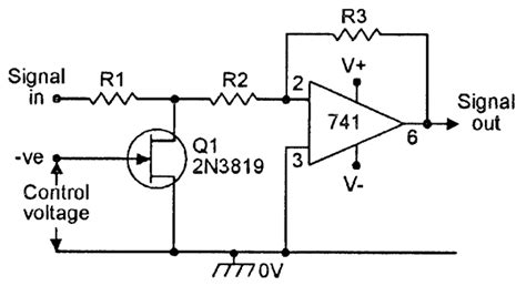 fet voltage controlled resistor circuit fet principles and circuits pa