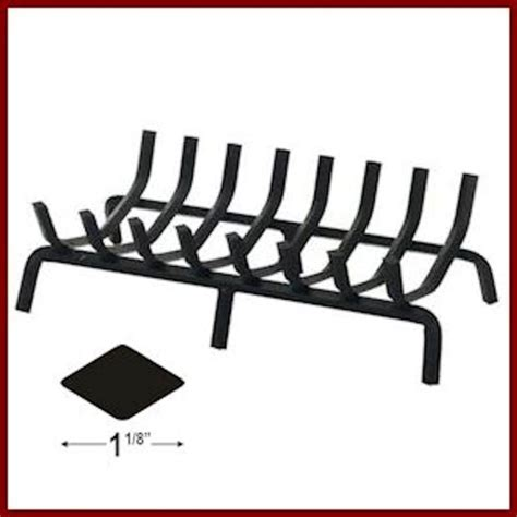 Heavy Duty Fireplace Grate by Heavy Duty Grate For See Thru Fireplace Northshore