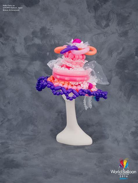 balloon flamingo hat tutorial 92 best balloon hats images on balloon hat