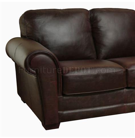 whiskey leather sofa mark sofa loveseat set in brown whiskey full italian leather