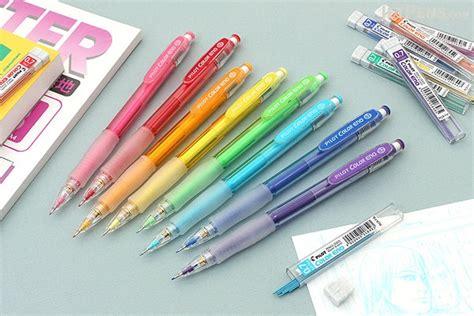 colored lead mechanical pencils pilot color eno mechanical pencil lead 0 7 mm soft