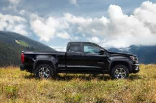 2015 chevrolet colorado z71 side profile