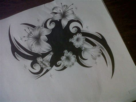 flower cover up tattoo designs flower design cover up by tattoosuzette on deviantart
