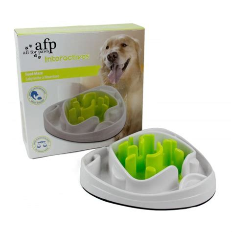 interactive puppy toys all for paws afp interactive puppy food treat maze 28x28x8cm ebay
