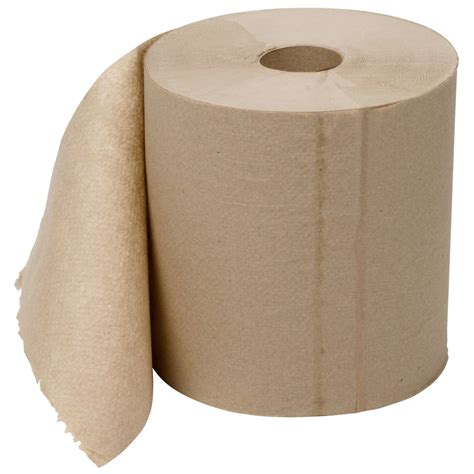 What To Make With Paper Towel Rolls - lavex janitorial 800 brown kraft hardwound roll