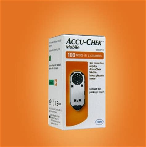 accu chek mobile test cassette 100 accuchek mobile test cassette