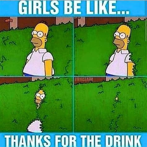 Homer Meme - homer simpson girls be like meme