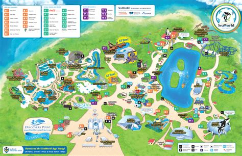 Where To Buy Sea World Gift Cards - seaworld 174 park map seaworld 174 san antonio