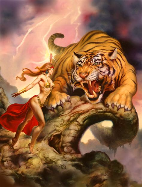 boris vallejo julie tiger magic boris vallejo and julie bell