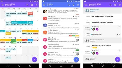 stock email apk 10 best email apps for android android authority