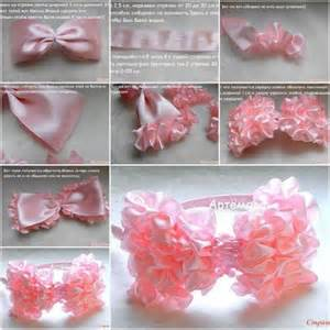 how to make pretty pink bow step by step diy tutorial