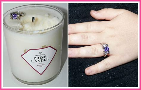 Candles With Rings Inside Them by Prize Candles Review Tmmprizecandle Cori S Cozy Corner