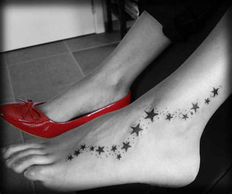 small star tattoos on foot 36 peerless foot tattoos and designs