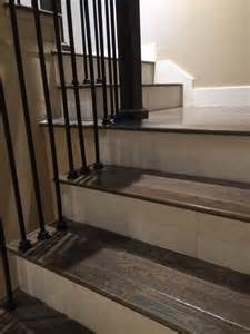 Tile Floor Wood Stairs by 25 Best Ideas About Tile Stairs On Pinterest Tiled