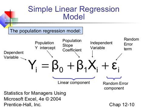 Linear Model Linearregression