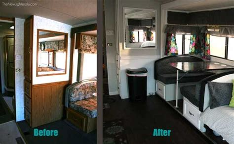 rv renovation ideas this is a great tutorial about how to reupholster your