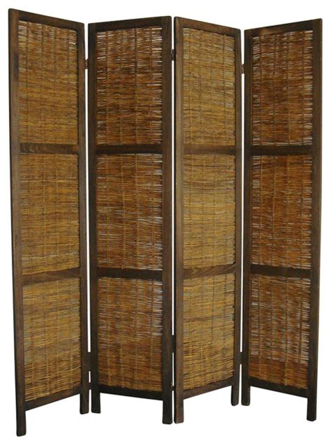 rustic room dividers bankok decorative folding screen rustic screens and room dividers by shopladder