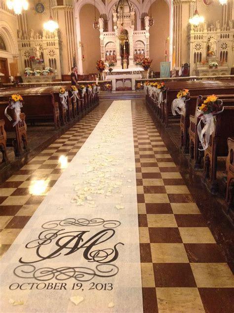 17 Best ideas about Wedding Church Aisle on Pinterest