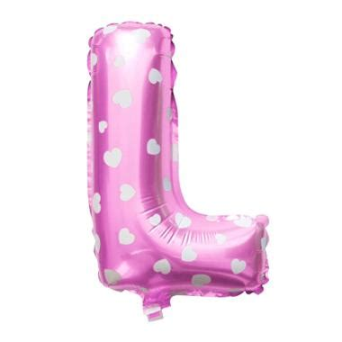 Jual Balon Huruf E by Jual Grins And Giggles Foil Huruf L Pink Balon