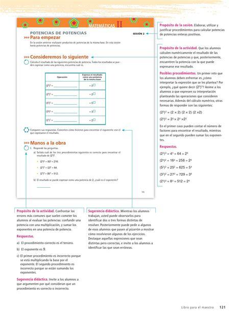 issuu libro de matemticas contestado maestro matem 225 ticas 2o grado volumen ii by rar 225 muri issuu