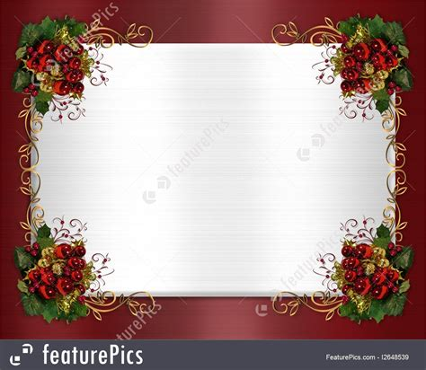 Classic Mini Door Card Template by Free Card Borders Lights Decoration