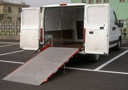 pedane di carico per furgoni re di carico per furgoni