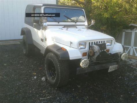 88 Jeep Wrangler Specs 1988 Jeep Wrangler Yj 4x4 Vortec Powered Gm Conversion