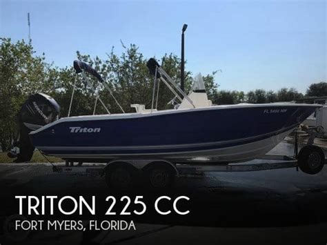 triton pontoon boats reviews triton 22 boat for sale in fort myers fl for 33 300