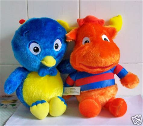 Backyardigans Dolls Linkdelight98 2 Backyardigans Pablo Tyrone Plush Dolls