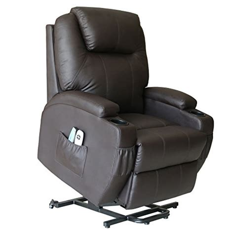 recliner chair on wheels product reviews buy action club deluxe power lift heated