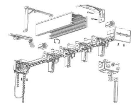 Levolor Vertical Blinds Replacement Parts levolor vertical blind carrier repair parts get wiring diagram free