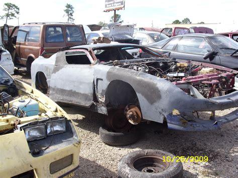 camaro salvage yards chop top camaro in junkyard third generation f