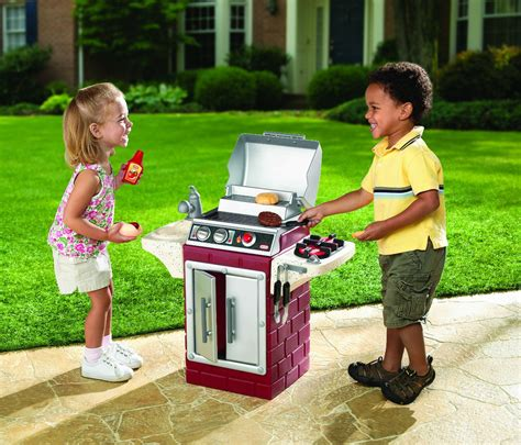 tikes backyard barbeque get out n grill just 22