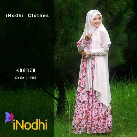 Baju Muslim Magnolia Syari By Friska2 khanza by inodhi 406 baju muslim gamis modern