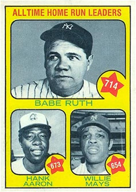 topps 1973 baseball card set