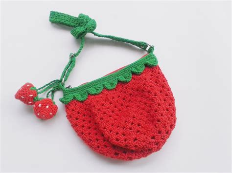 tutorial tas rajut strawberry tas rajut strawberry rajutmerajut