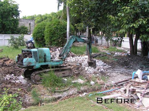 backyard drainage design drainage and landscaping at bangkok garden thai garden