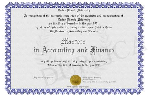 Masters In Accounting Vs Mba by Masters In Accounting And Finance
