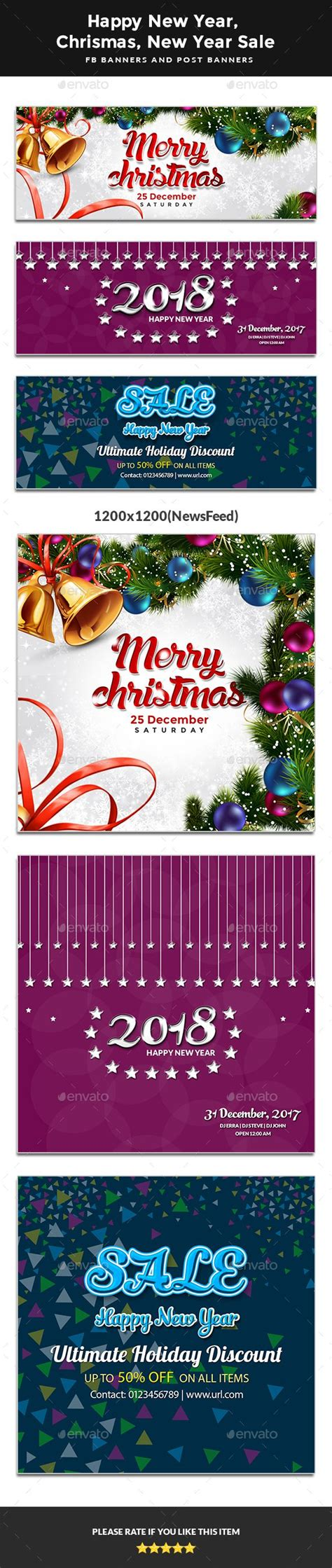 happy  year happy christmas  year sale fb covers post banners facebook