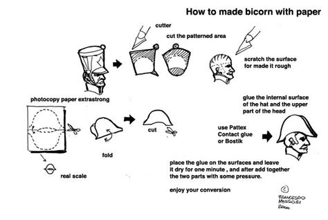 How To Make A Paper Tricorn Hat - bicorne hat pattern my style