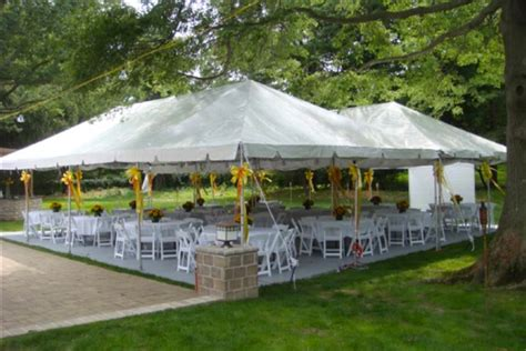 renting a tent for a wedding fairfield tent rental 203 533 4698