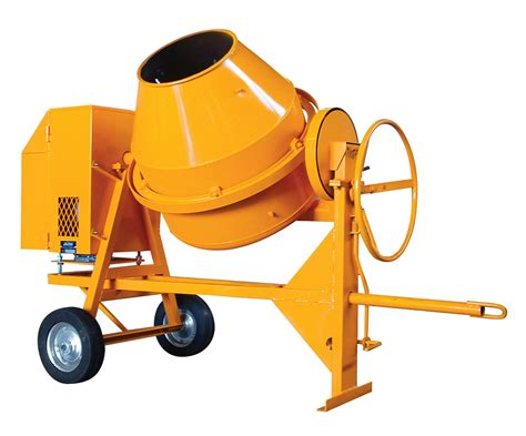 Mixer Falcon Medium Heavy Duty Side Tilt Concrete Mixers Bm175