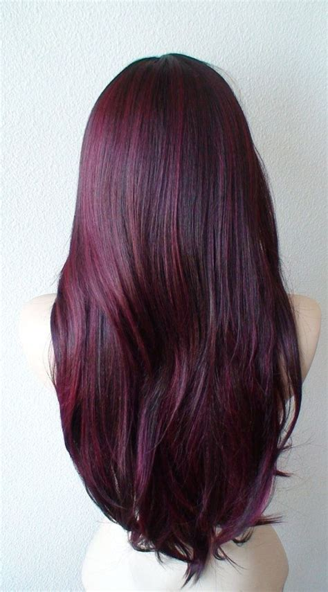 wine hair color 25 best ideas about wine colored hair on wine