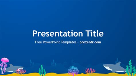 Free Sharks Powerpoint Template Prezentr Powerpoint Templates Shark Powerpoint Template