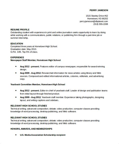 Resume Profile Exles Resume Profile Exle 7 Sles In Pdf Word