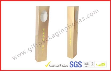 How Long Are Gift Cards Good For - long incense gold gift card board packaging window for incense packet good quality