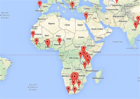africa map harvard africa health partnership harvard t h chan school of