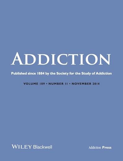 Addicted To Reading Journal society for the study of addiction